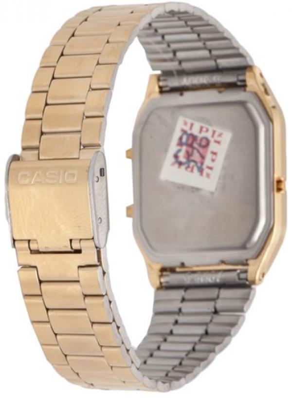 ea0be8f13 Relógio Feminino Anadigi Casio Vintage AQ-230GA-9BMQ - Dourado R  329
