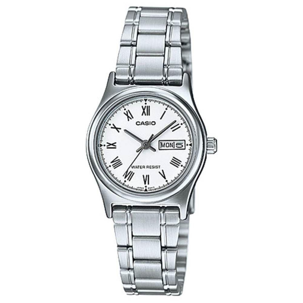 28b4aaf442d Relógio Feminino Casio Analógico Ltp-v006d7bu - Prata Produto não disponível