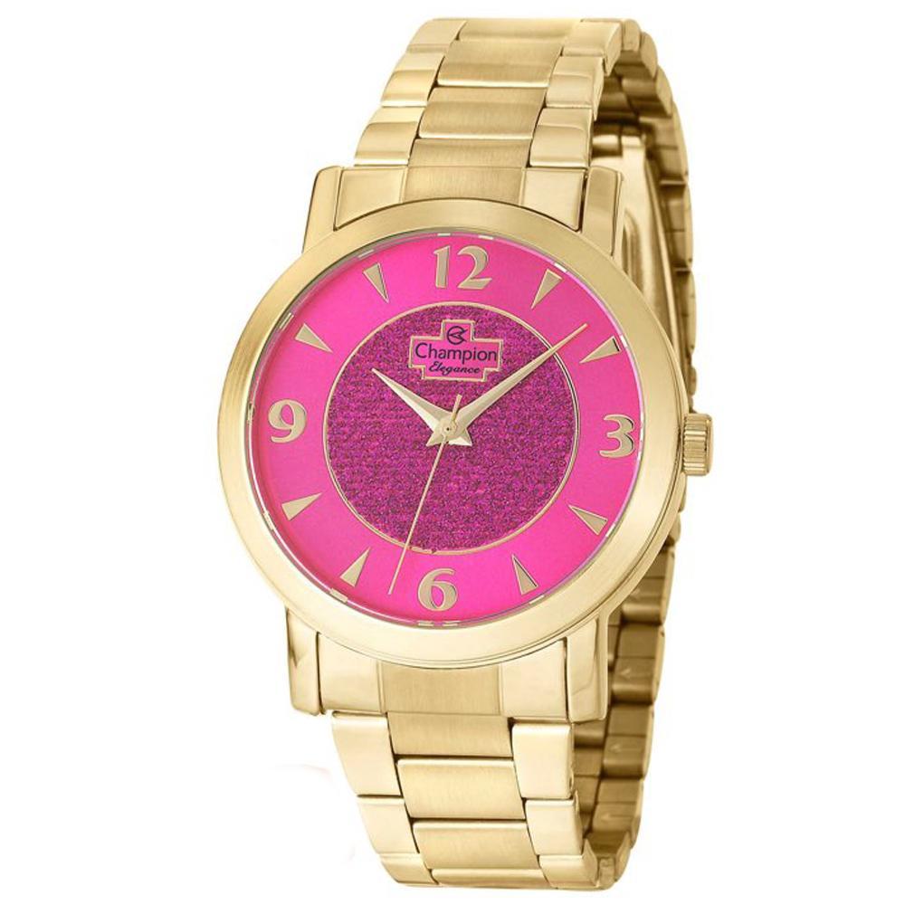 38d68313d88 Relogio Feminino Champion Dourado CN25136L - Relógio Feminino ...