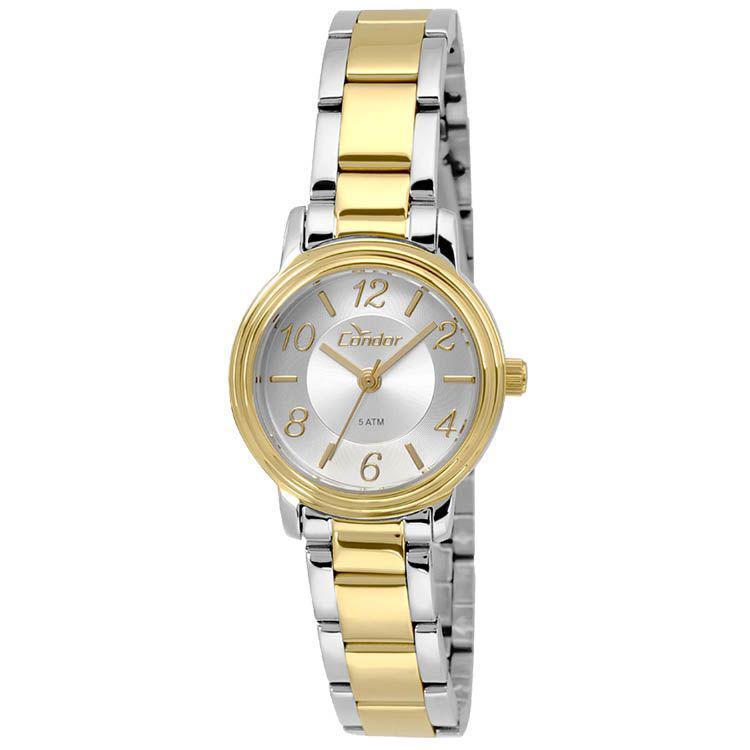 19437e01a45 Relógio Feminino Condor Analógico CO2035KRL5K - Prata Dourado Produto não  disponível