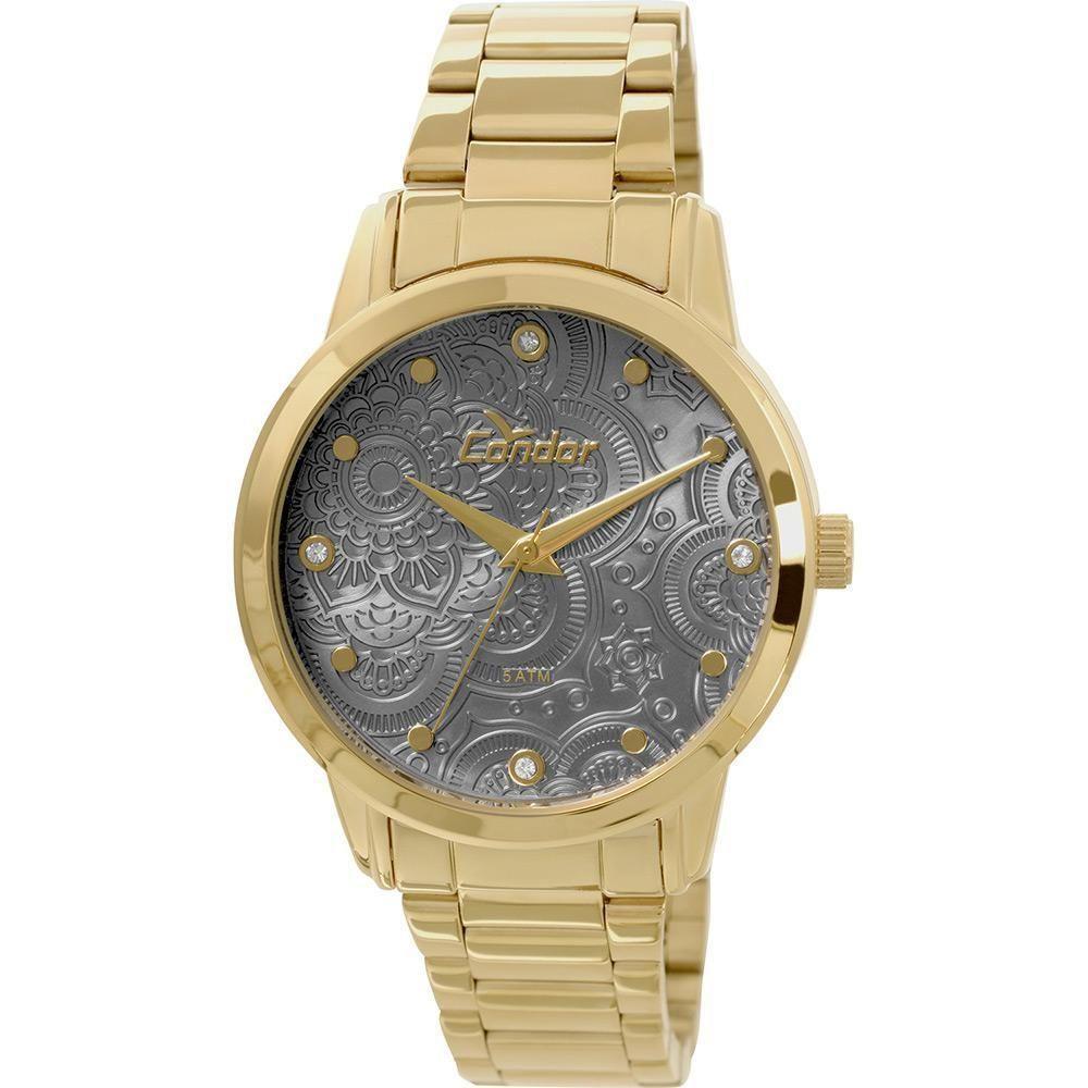 26319783182 Relógio Feminino Condor Analógico Fashion CO2036CL 4K - Dourado Produto não  disponível