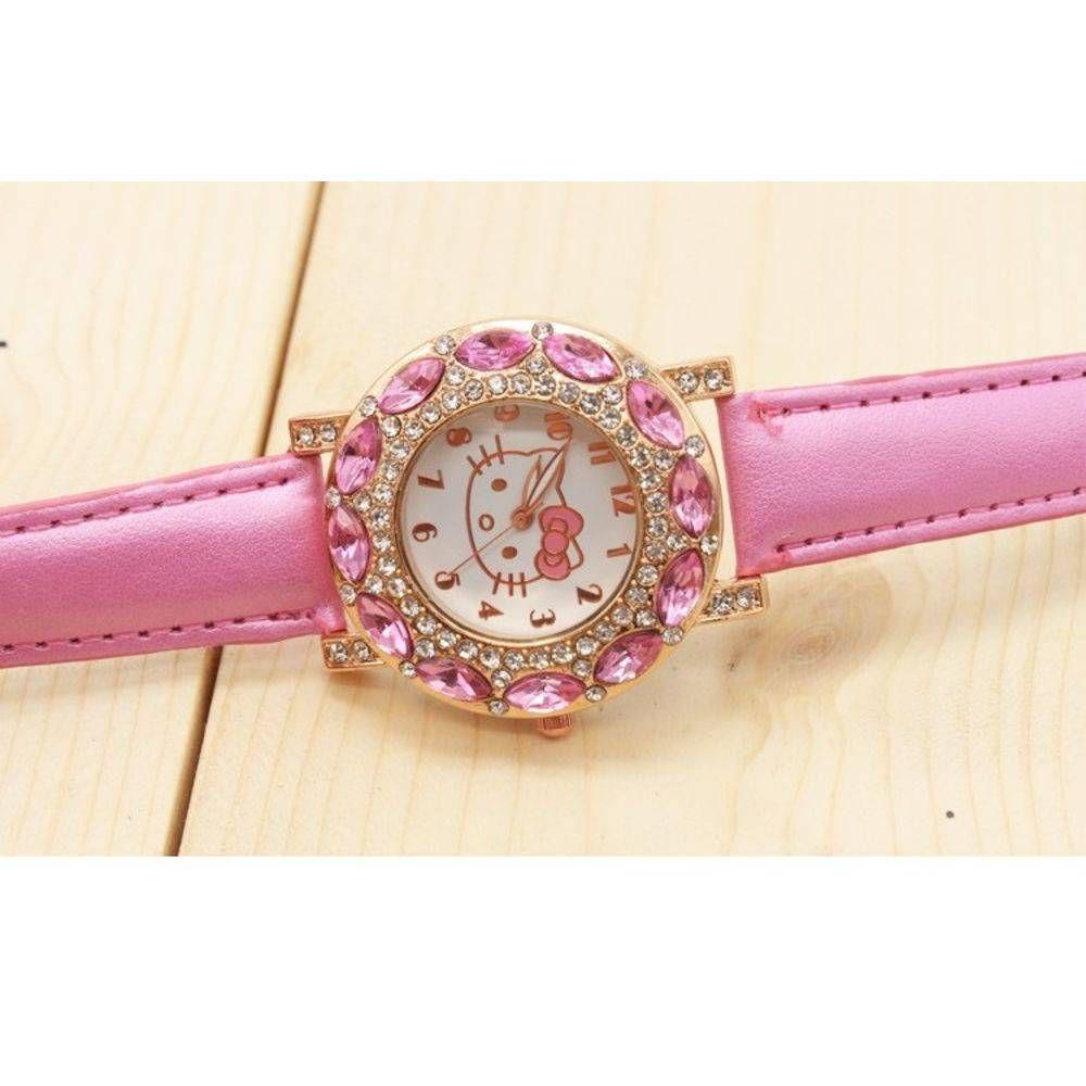 Relógio Feminino de Pulso Hello Kitty Rosa Bebê - Outras marcas R  55,00 à  vista. Adicionar à sacola bcb543cde3