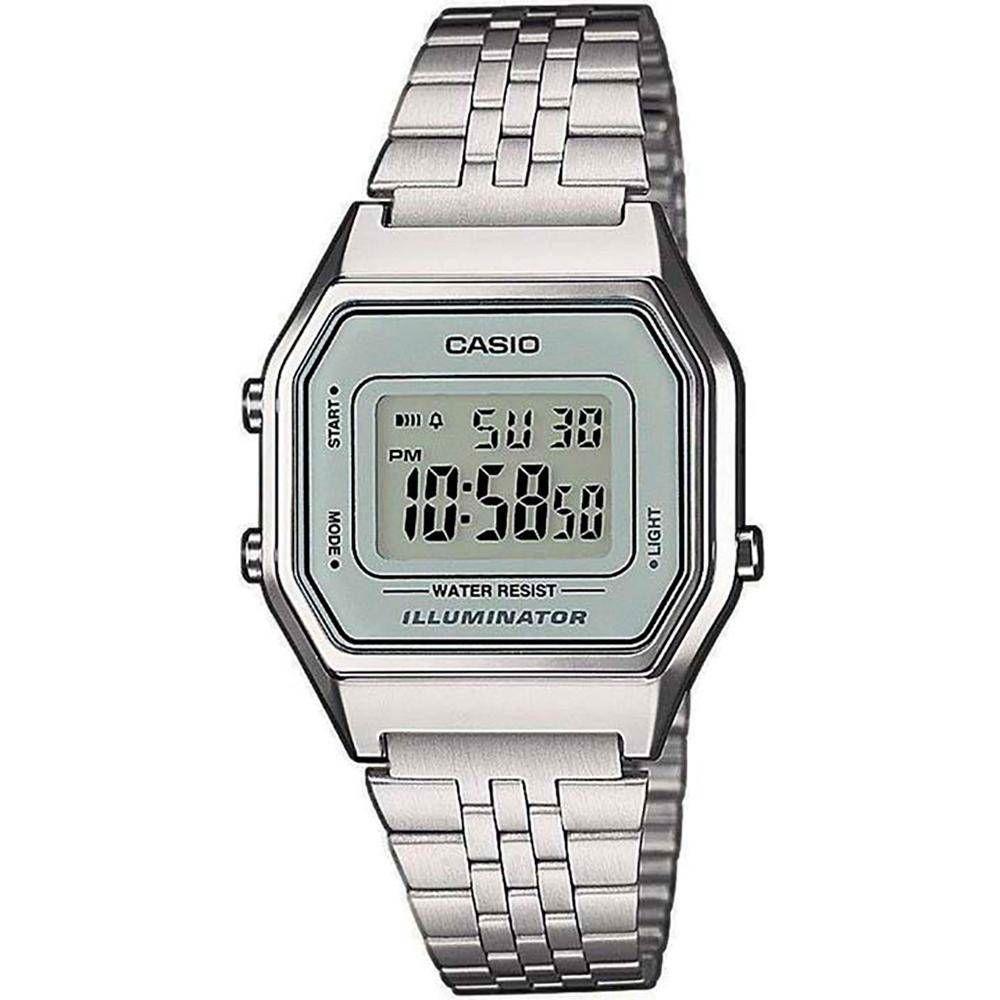 99d8eac23ff Relógio Feminino Digital Casio Vintage La680wa-7df Prata Produto não  disponível