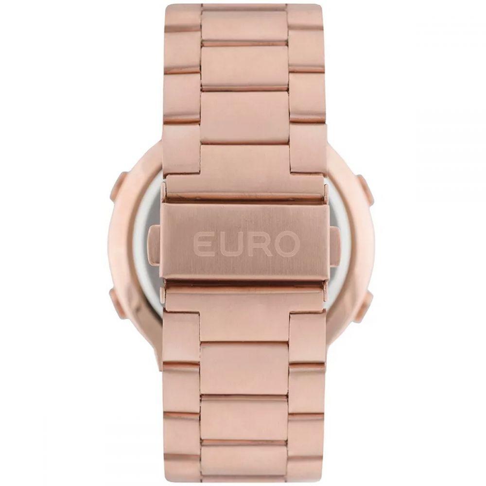 3baeed63382 Relógio Feminino Digital Eubj3279af 4j Rose Sabrina - Euro - Relógio ...