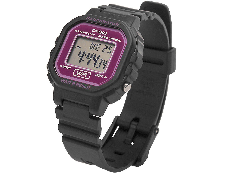 06e5fae81d7 Relógio Feminino Esportivo Digital - Casio - LA-20WH-4ADF - Relógio ...