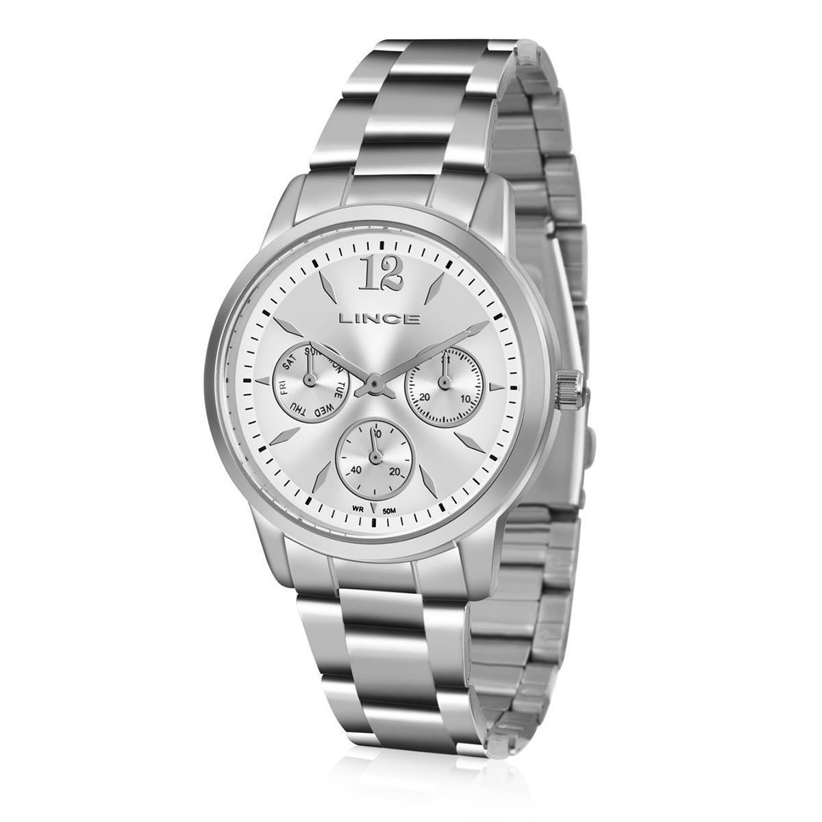 Relógio Feminino Lince Analógico LMMJ069L B2SX Aço R  188,00 à vista.  Adicionar à sacola 20fa2fde23