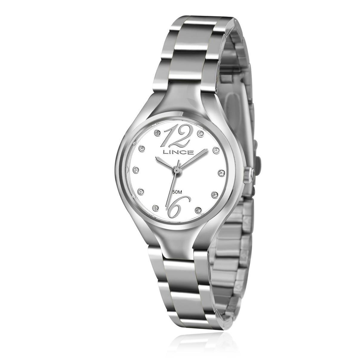 Relógio Feminino Lince Analógico LRMJ057L B2SX Aço R  135,00 à vista.  Adicionar à sacola 843a61b045