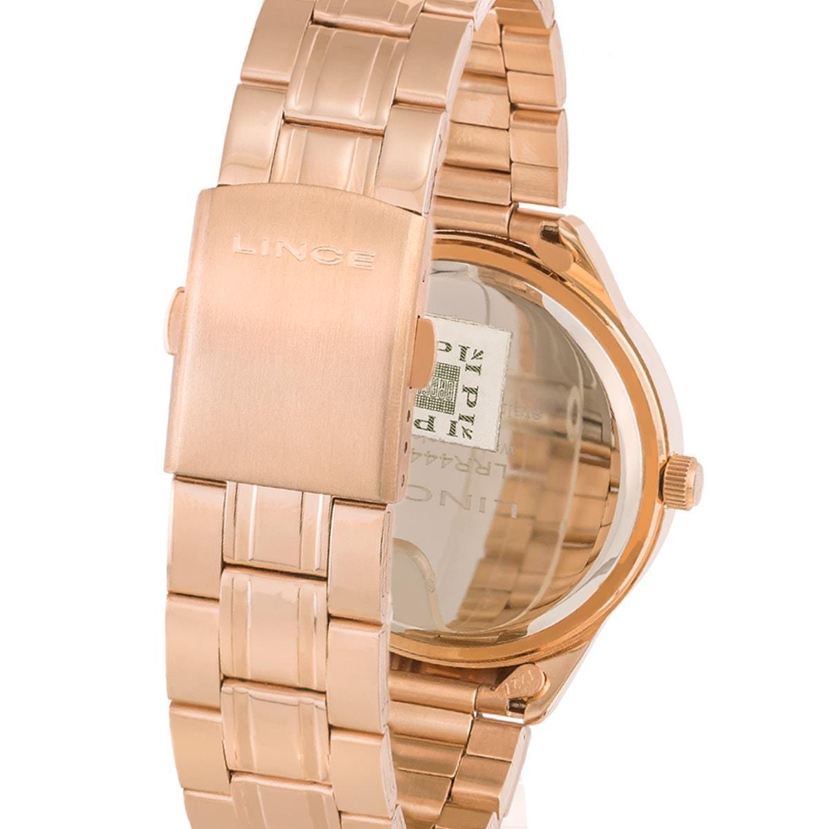 f03e9c45bde Relógio Feminino Lince Analógico LRR4440L R2RX Rose Produto não disponível