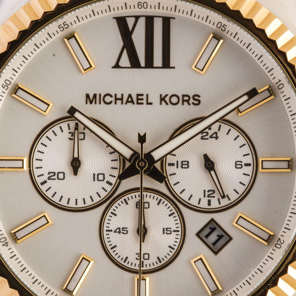 7dda96b014cbc Relogio Feminino Michael Kors Analogico - Mk8344 5kn - Prata dourado  Produto não disponível