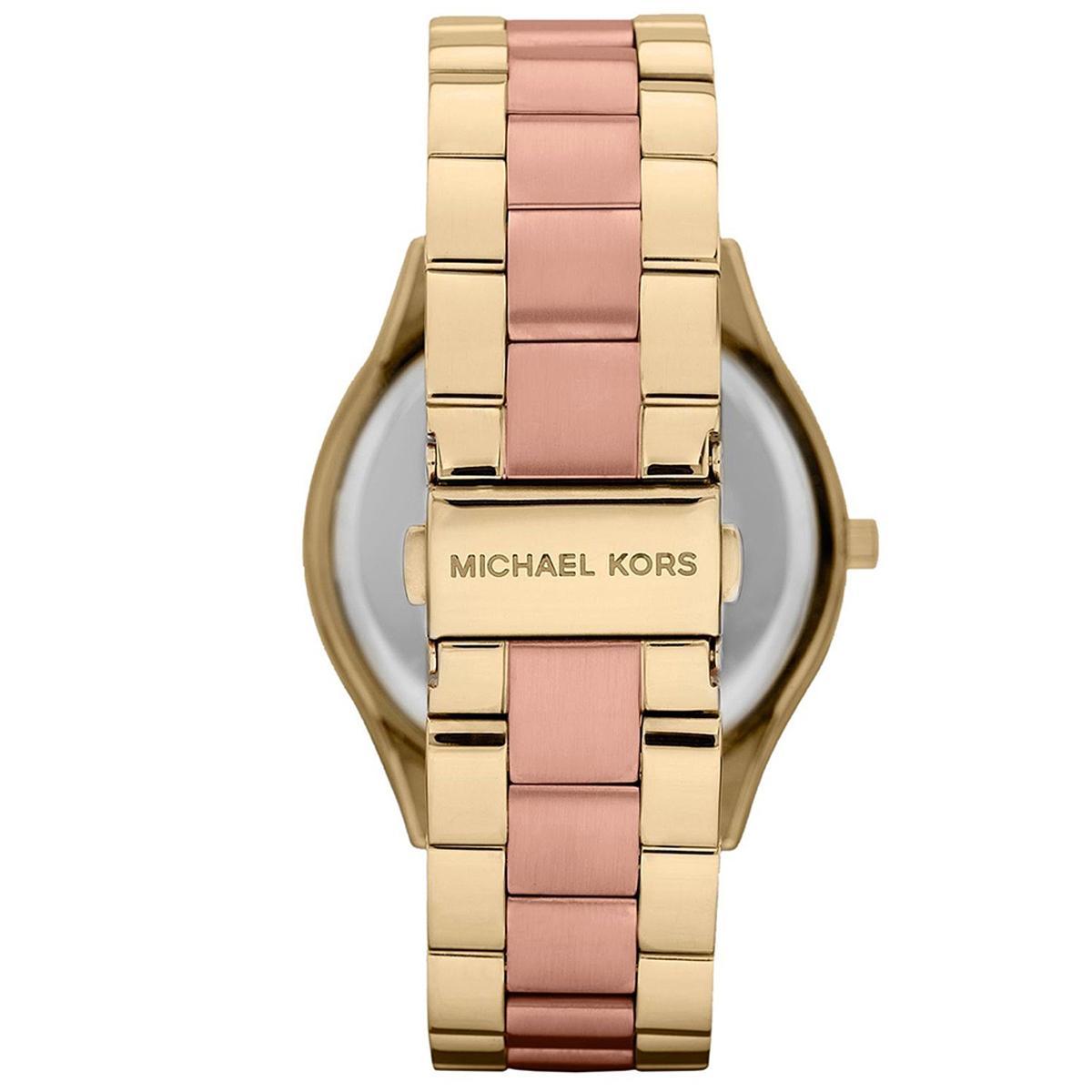 9f3e3ef5a97 Relogio feminino michael kors bicolor mk3493 - Relógio Feminino ...