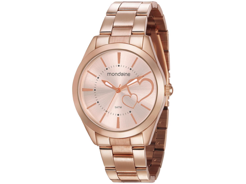 f2ce7ca812c2e Relógio Feminino Mondaine Analógico - Resistente à Água 53690LPMGRE4  Produto não disponível