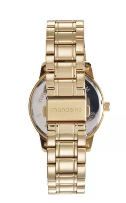 e92f044c97c Relogio Feminino Mondaine Dourado Visor Texturizado 83368lpmvde1 Produto  não disponível