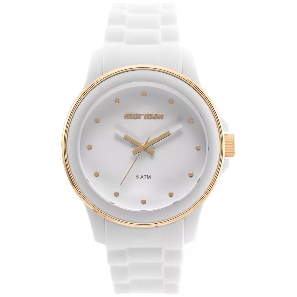 99b492f87f0 Relógio Feminino Mormaii MO2035IY 8T - Branco - Relógio Feminino ...