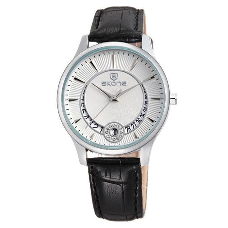 71947c5e711 Relógio Feminino Skone Analógico Casual 9242BG Branco Produto não disponível