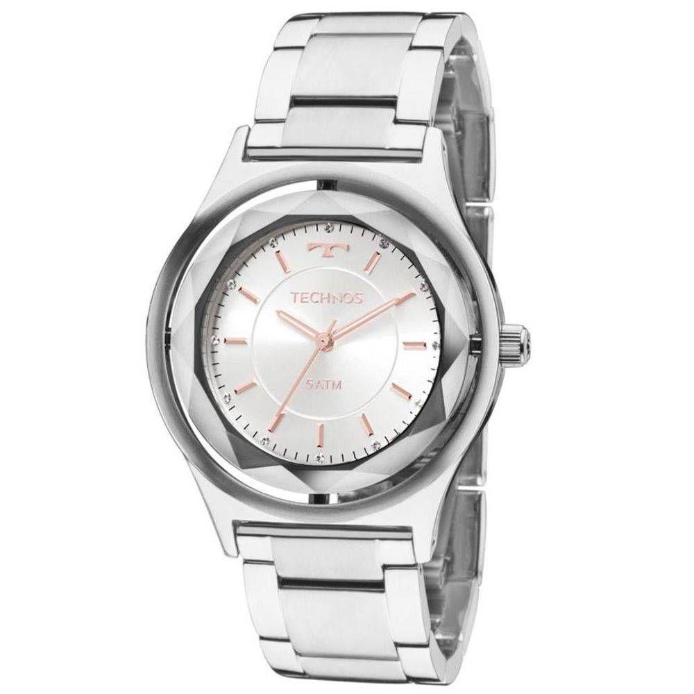 8126c395e8d Relógio feminino technos analógico mia prata vista adicionar sacola jpg  1000x1000 Relogio feminino prata