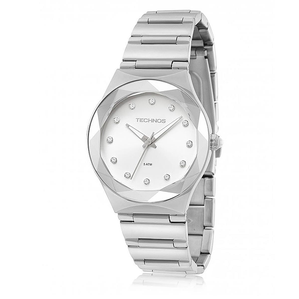 Relógio Feminino Technos Elegance Crystal 2035MFJ 1K Aço com Cristais R   450,00 à vista. Adicionar à sacola 59f36d47ae