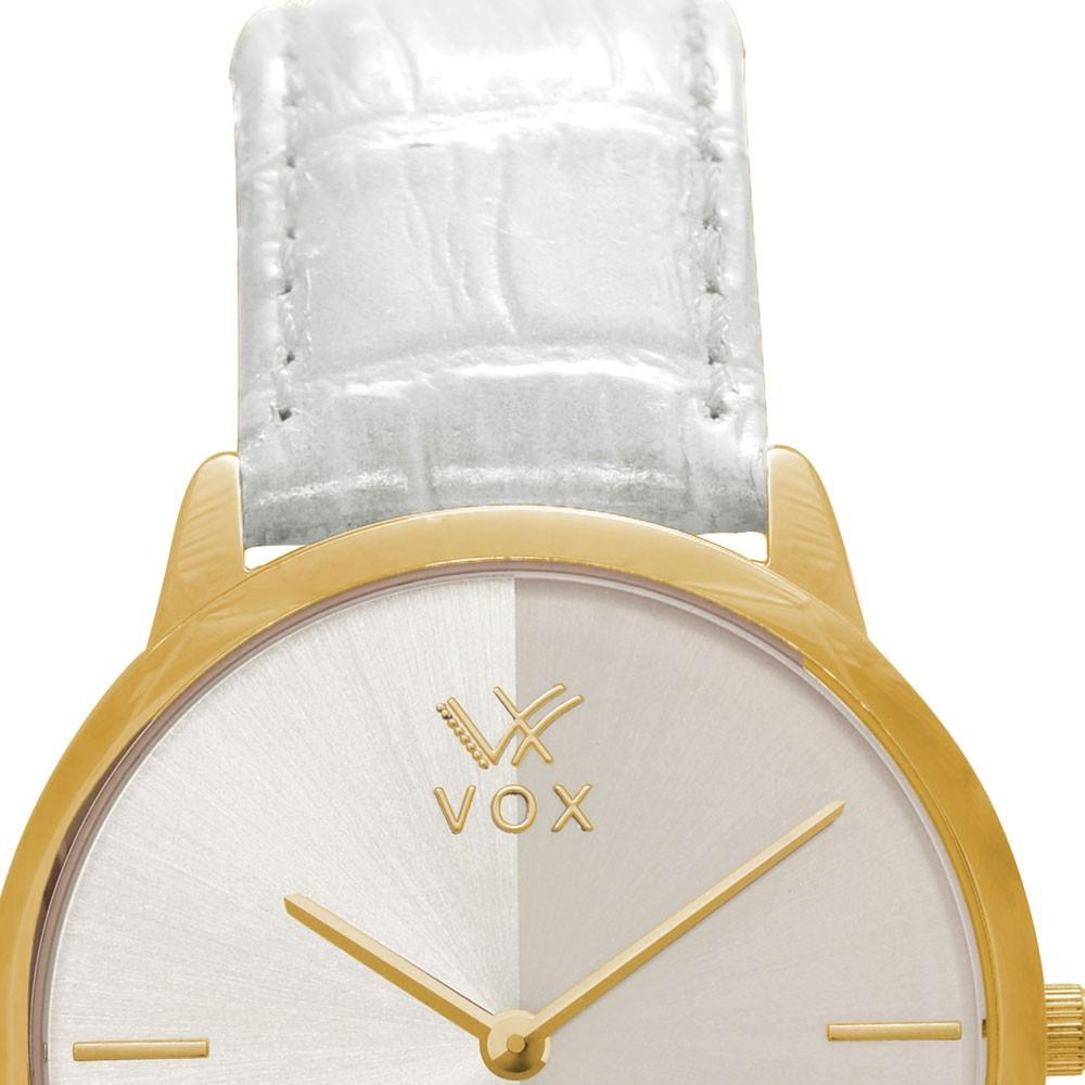 Relogio Feminino Vox Analogico Casual Phoenix Caixa Metal Dourado Pulseira  Couro Branco Produto não disponível cc040a9e7c