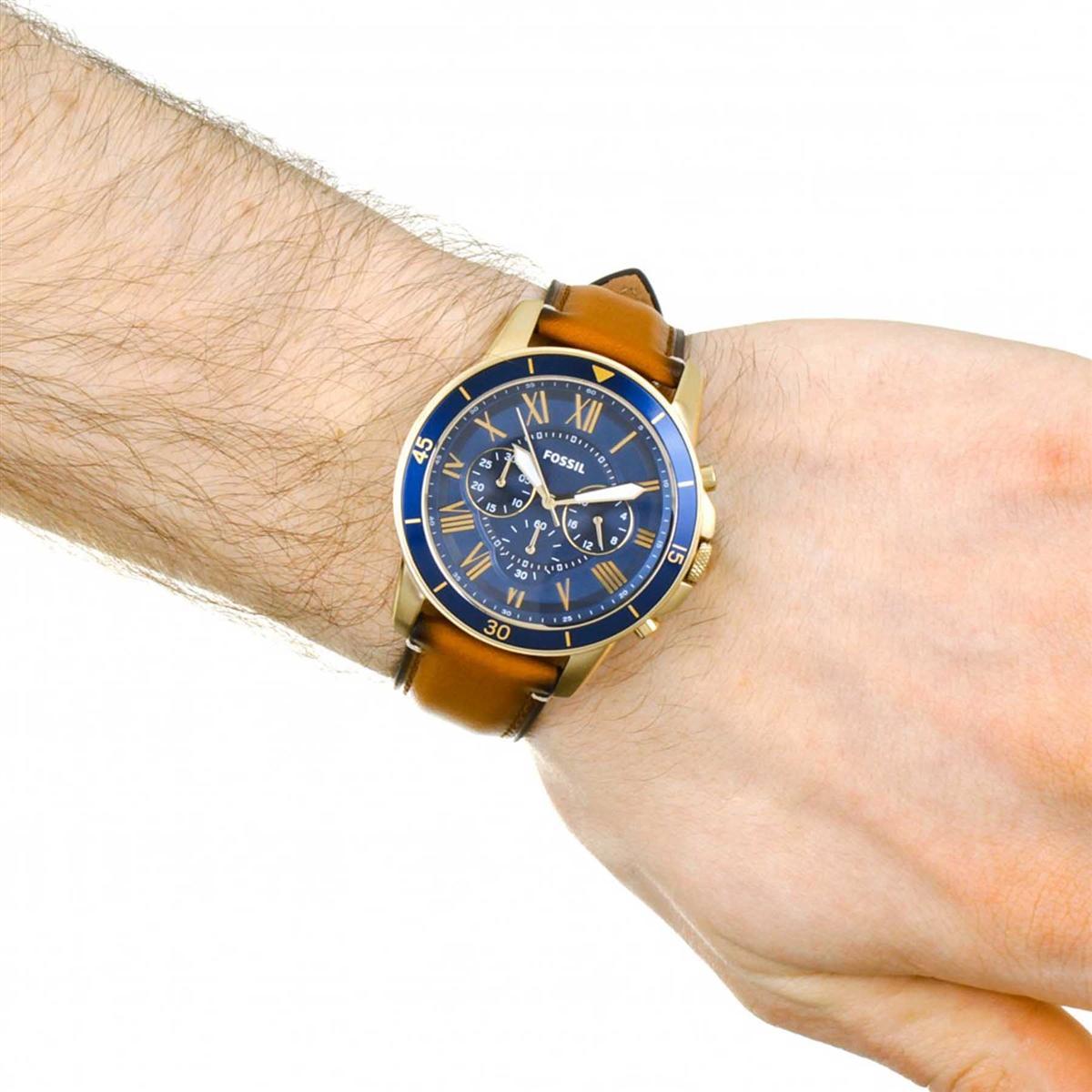 Relógio Fossil Grant Cronógrafo Analógico Masculino FS5268 2AN Produto não  disponível 468275f2a3