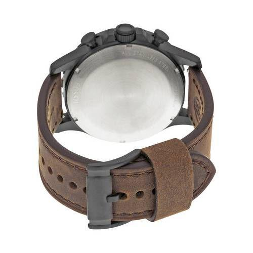 1305bb2061a8c Relógio Fossil Masculino Nate Marrom Couro JR1487 0MN R  878,99 à vista.  Adicionar à sacola
