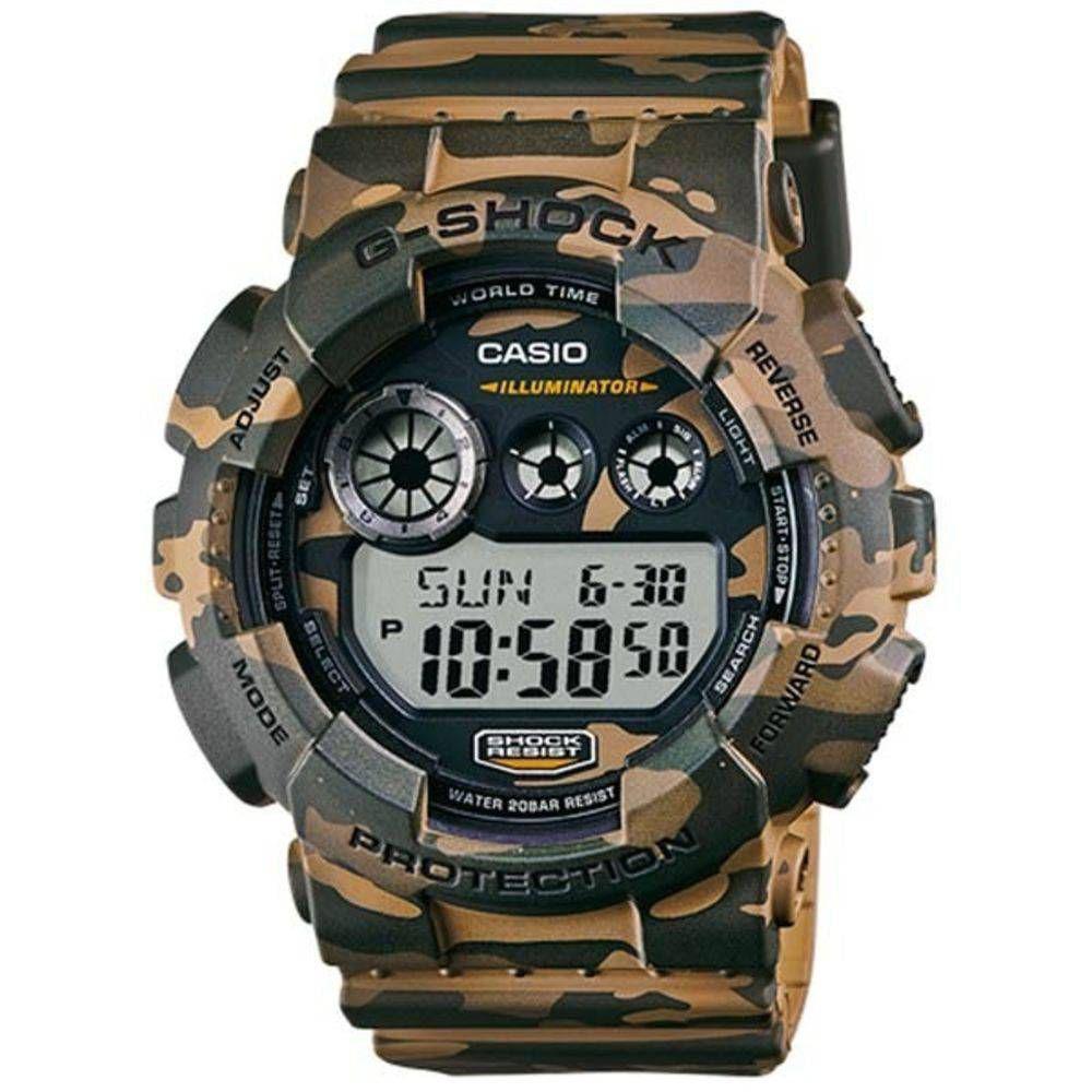 b994733253f Relógio G-Shock GD-120CM-5DR Casio Camuflado Masculino - Relógio ...