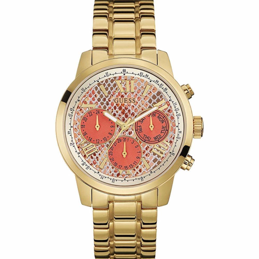 795bac91c6e Relogio Guess Feminino 92521lpgsda5 - Dourado - Relógio Feminino ...