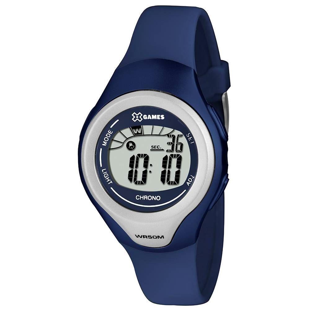 bfc13874597 Relógio Infantil X-games Digital XKPPD031 BXDX Azul - Xgames Produto não  disponível