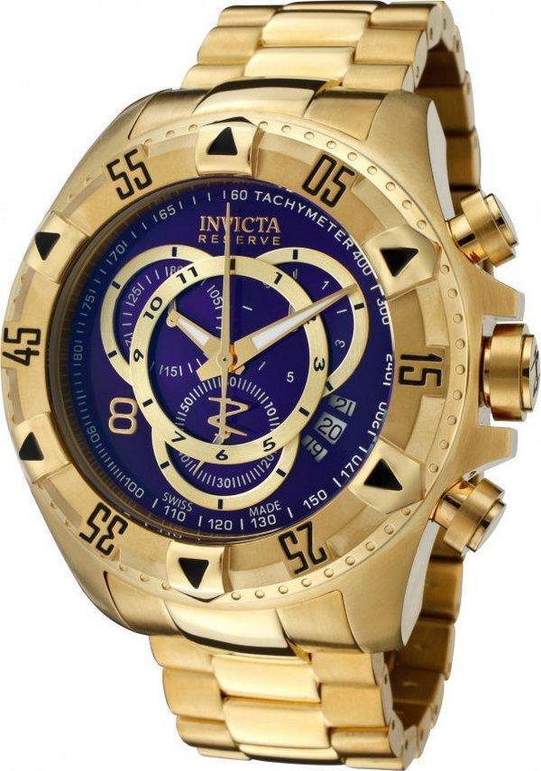 ac4d29fee5c Relógio Invicta Excursion 6469 Azul Dourado - Relógio Masculino ...