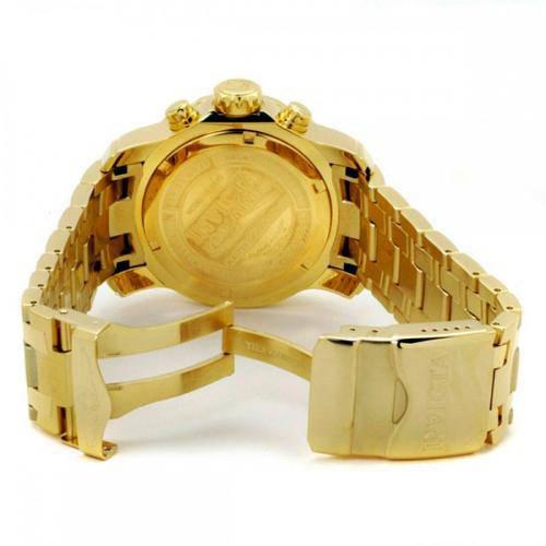 c18c72bd579 Relógio Invicta Masculino 0072 Pro Diver 48mm Banhado a Ouro 18k R  686
