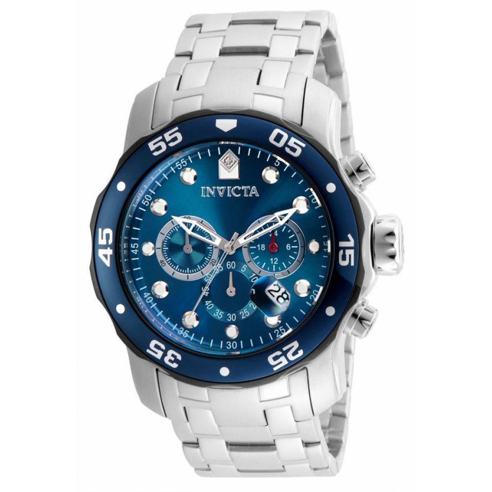 ed2af9aa1e Relógio Invicta Pro Diver 21784 Prata E Azul - Relógio Masculino ...
