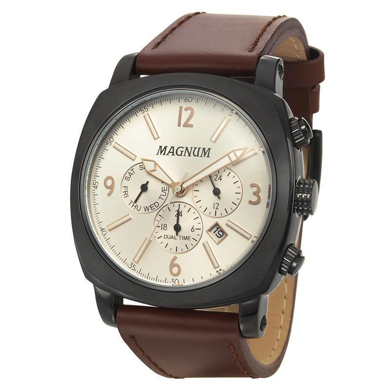 27364b3e0a9 Relógio Magnum Masculino - MA34512D - Relógio Masculino - Magazine Luiza