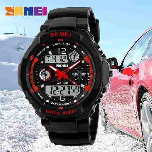 80d4063336a Relógio Masc. Skmei S-shock Modelo 0931 Prova Dágua - Relógios ...