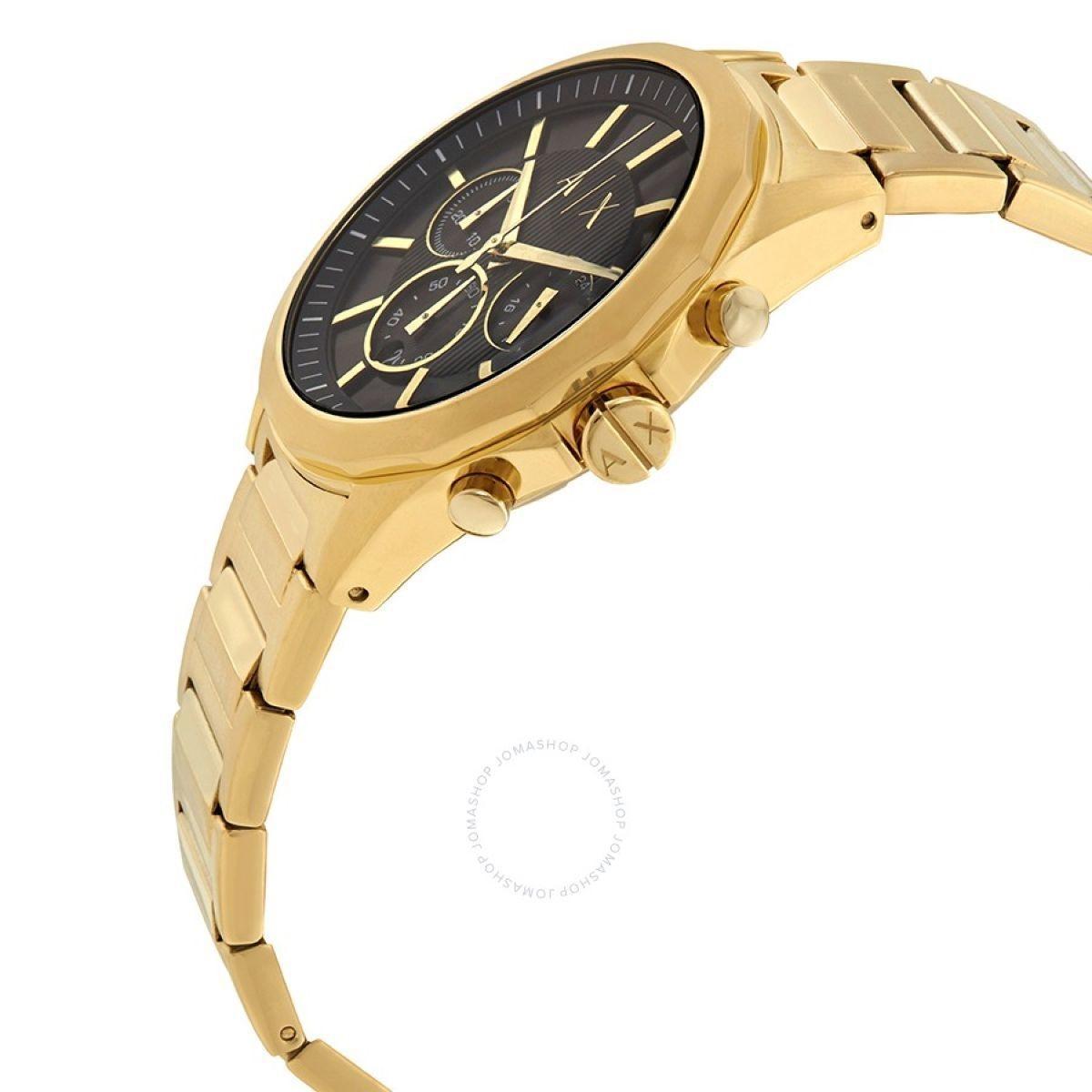 c0590404343 Relogio masculino armani exchange dourado ax2611 - Relógio Masculino ...