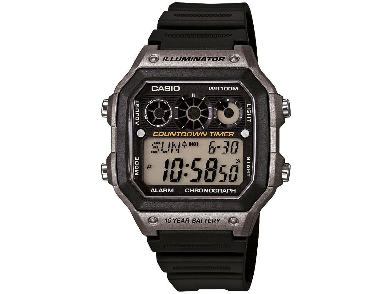 6b9c30ad4a9 Relógio Masculino Casio Digital - AE-1300WH-8AVDF - Relógio ...