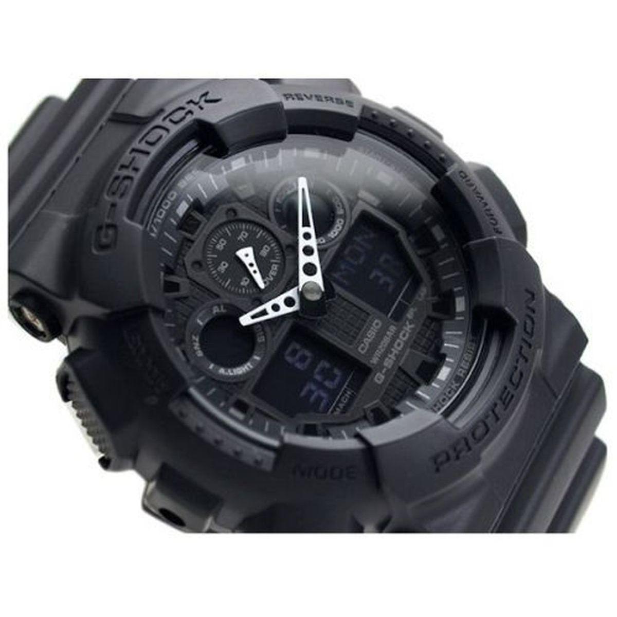 efb98804d41 Relogio Masculino Casio G-shock Anadigi Ga-100-1a1dr - Preto Produto não  disponível