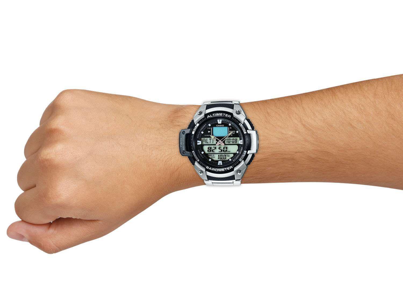 5d13679908b Relógio Masculino Casio SGW-400HD-1BVDR - Anadigi Resistente à Água  Cronômetro Calendário Produto não disponível