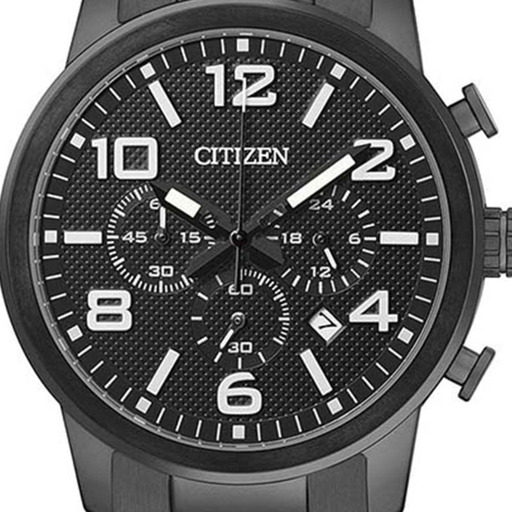 c96ceb8b3 Relogio Masculino Citizen Analogico Cronografo - Tz20297p - Preto Produto  não disponível