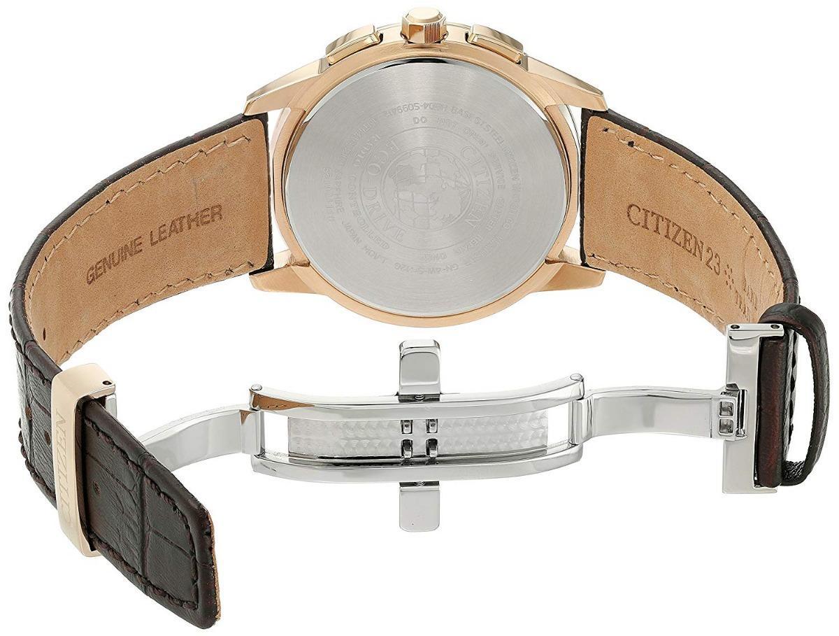 0de5b381939 Relógio Masculino Citizen Modelo AT8113-04H 43 Mm - A Prova DÁgua   Pulseira  em Couro R  4.299