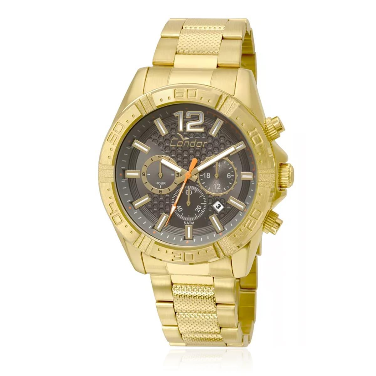 74cc65ea25b Relógio Masculino Condor Analógico COVD33AR 4C Dourado - Relógio ...
