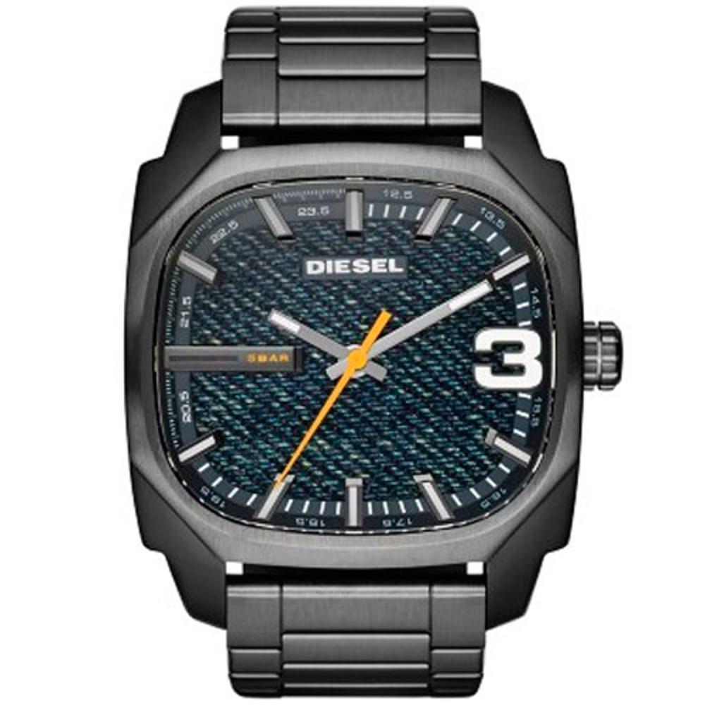 4aef17db950 Relógio Masculino Diesel DZ1693 1CN 42mm Pulseira Aço Grafite R  1.139