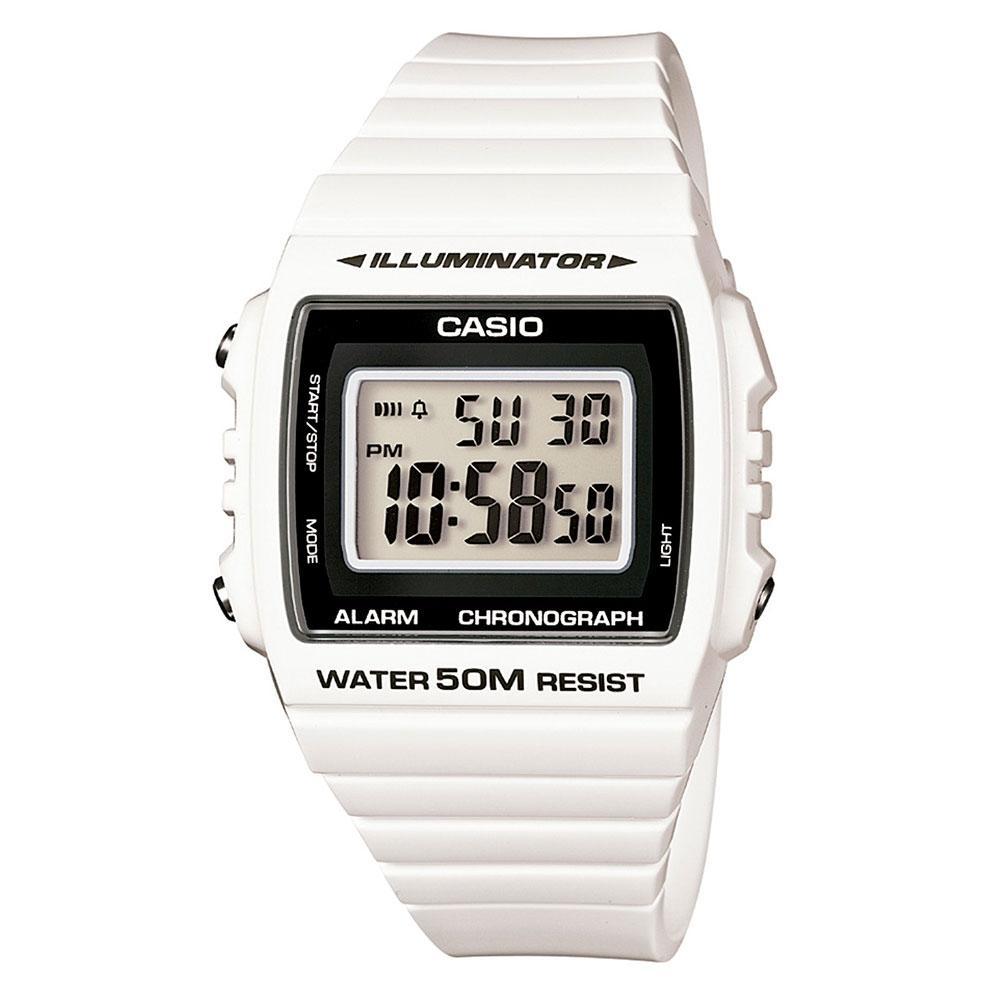 42210d09e33 Relógio Masculino Digital Casio W215H7AVDF - Branco - Casio R  209