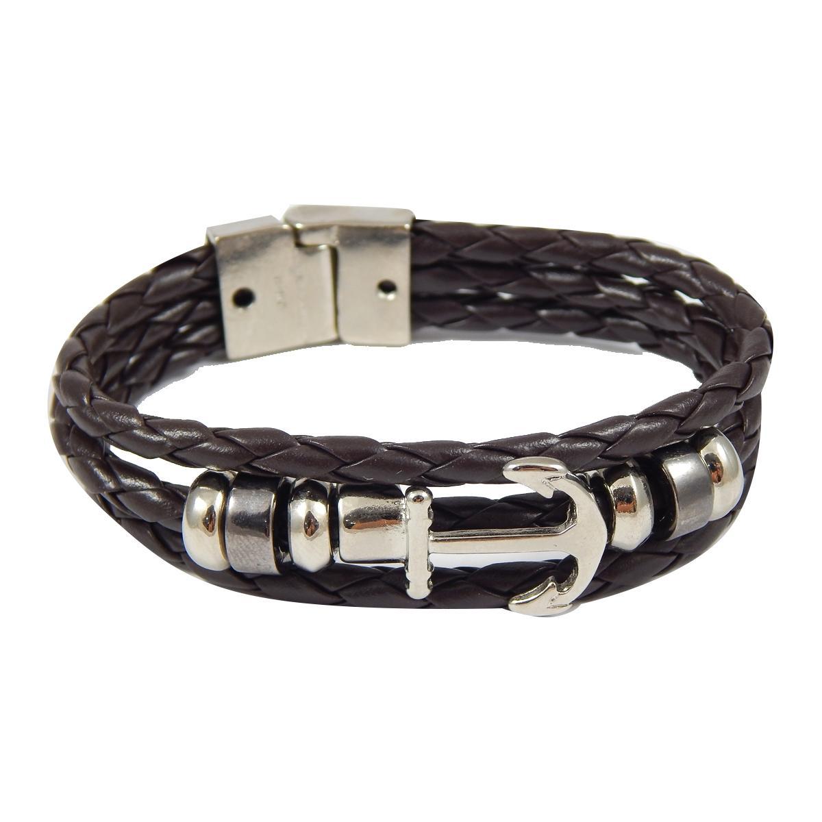f60fdf3af59 Relogio masculino magnum marrom kit com pulseira de couro ma21900d R   405