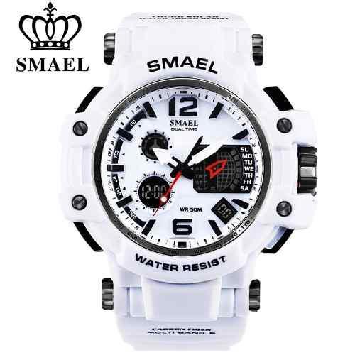 536044e872a Relógio Masculino Militar G-shock Smael 1509 Prova Dágua - Relógio ...