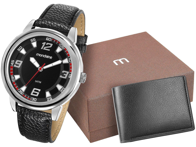 1a082c03104 Relógio Masculino Mondaine Analógico - 83307G0MKNH2K com Carteira ...