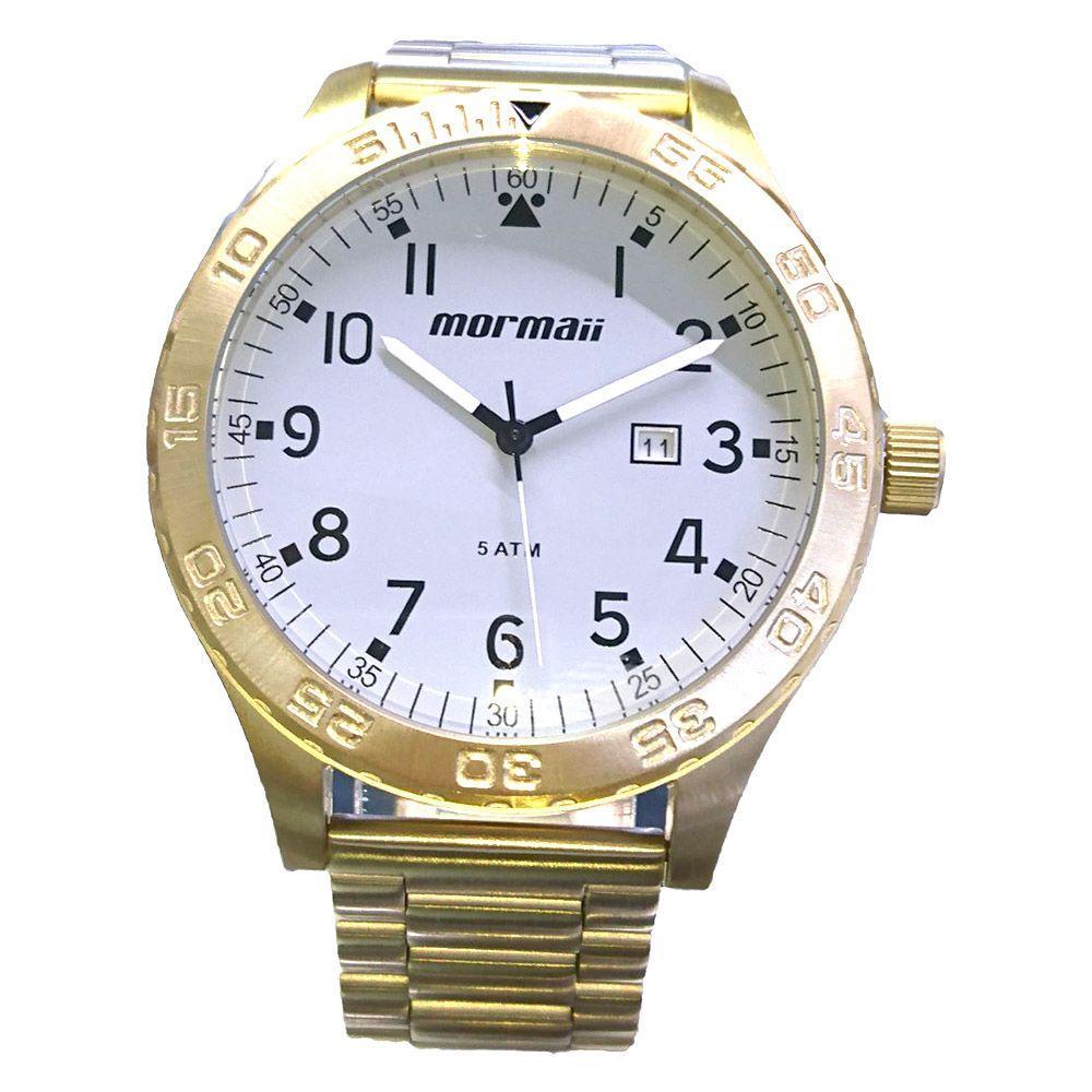 a5981f396717d Relógio Masculino Mormaii Dourado - MO2115AN 4C - Relógio Masculino ...