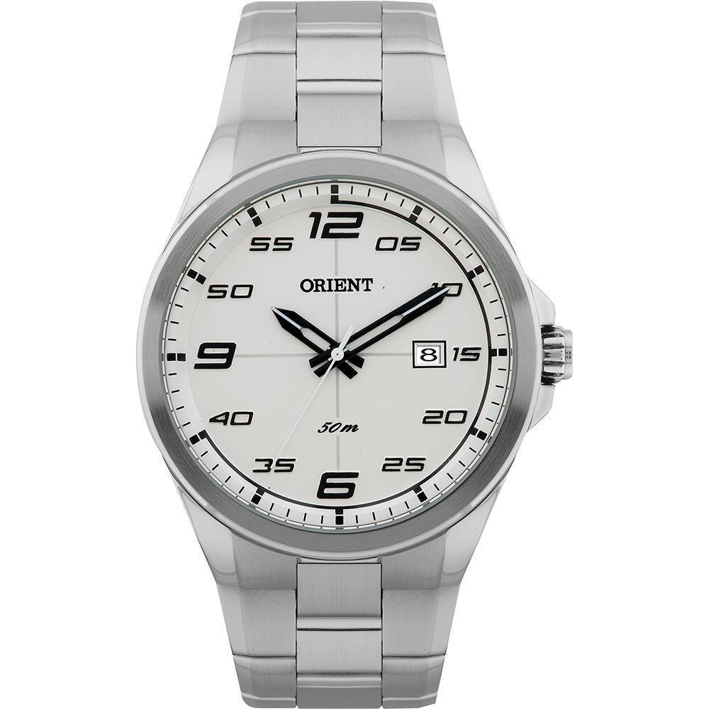 8e2b2fe78ce Relógio Masculino Orient Analógico Esportivo MBSS1220-BPSX - Prata Produto  não disponível