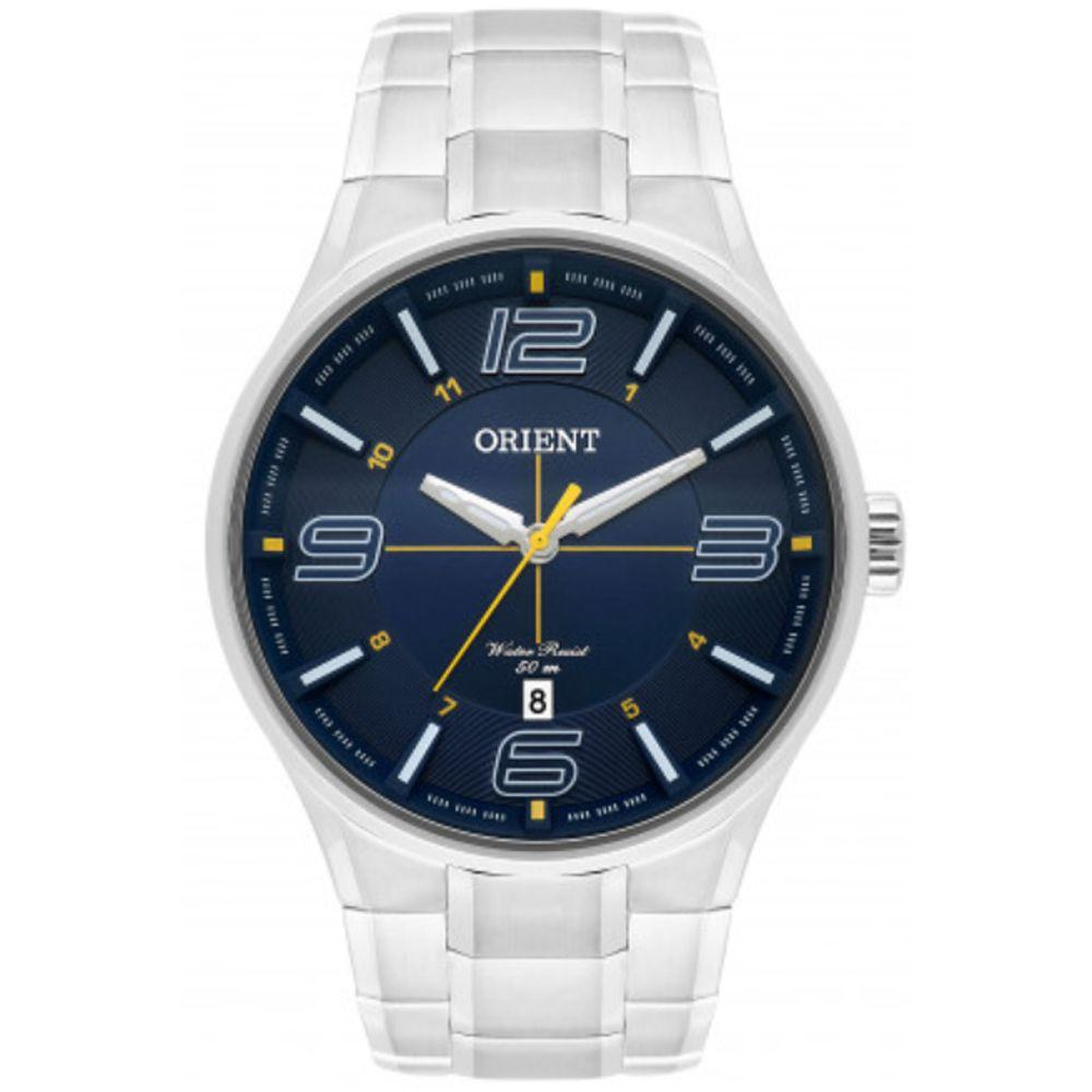 cc0cfef501407 Relógio Masculino Orient MBSS1307 D2SX Prata - Relógio Masculino ...