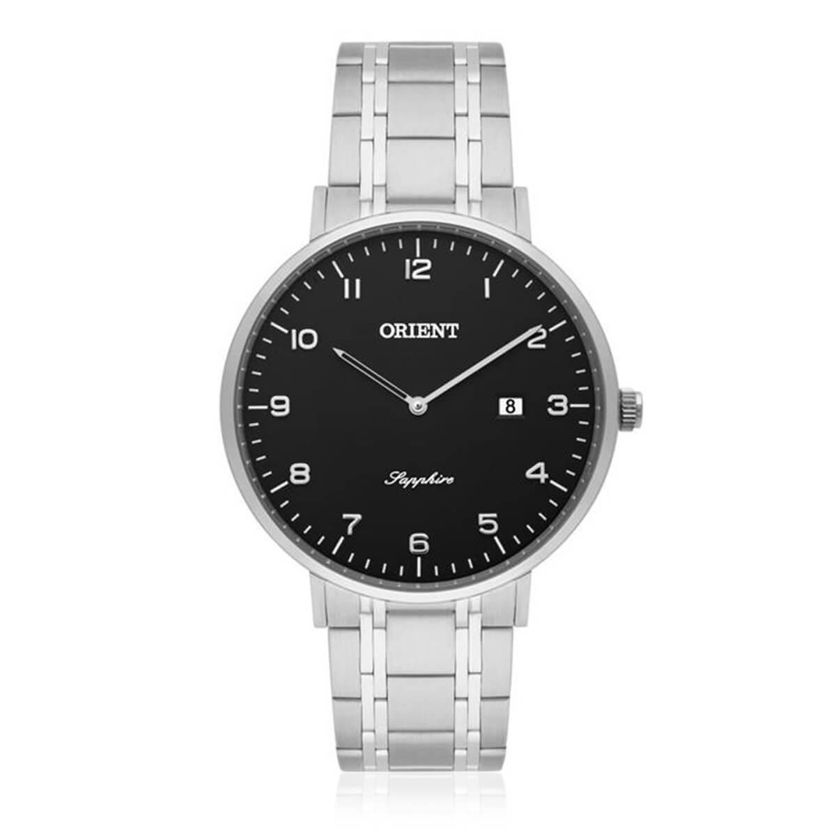 8ec7ef76e0b Relógio Masculino Orient Slim Sapphire MBSSS005 P2SX Fundo Preto Produto  não disponível