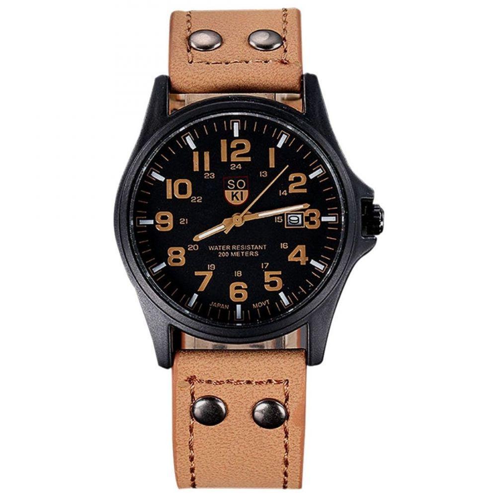 64f5bc5aed3 Relógio Masculino Pulso Leisure Series Analógico -Soki - Relógio ...