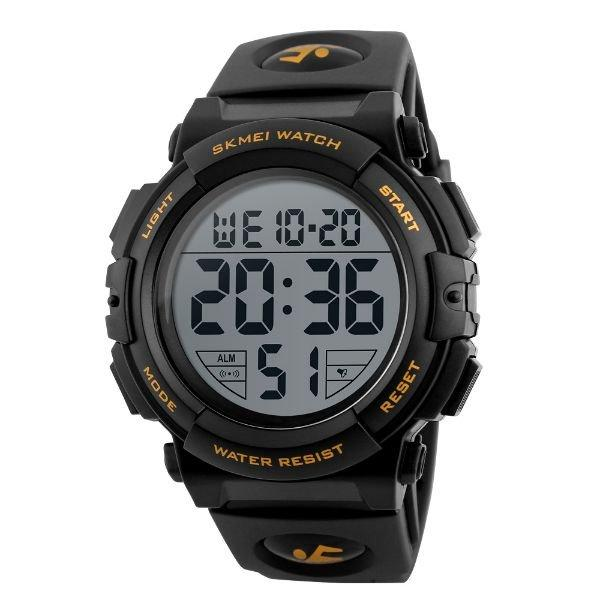 8f29a038818 Relógio Masculino Skmei Digital 1258 Dourado - Relógio Masculino ...