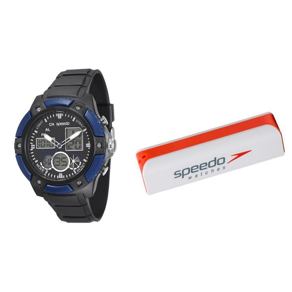 b4b786809a0 Relógio Masculino Speedo Analógico + Kit Carregador de Celular -  81083G0EGNP2 Preto Produto não disponível